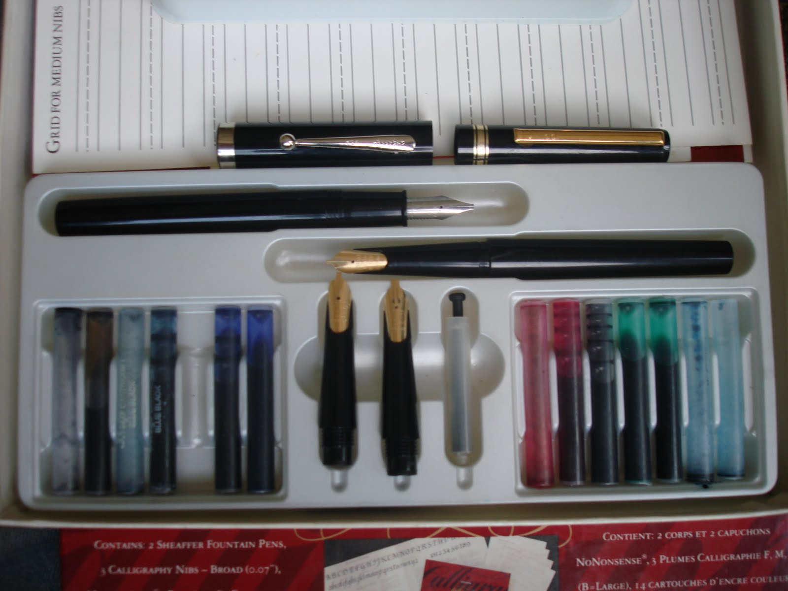 Sheaffer Calligraphy Set For Sierras International