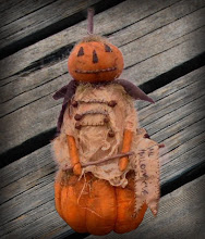 JOL Pumpkin Doll