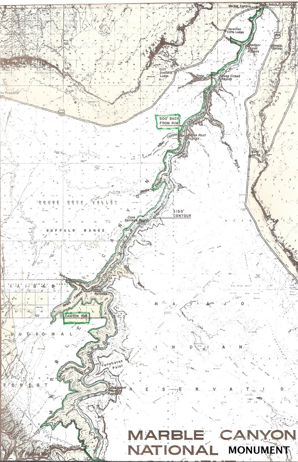 give me a line on a decent topo map anytime however here is what nps map drawers provided i added the west side green line