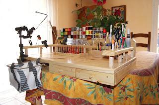 Table de Montage pour Mouche DSC00665