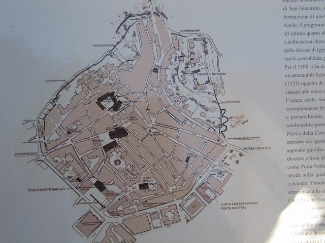 mapa de Iglesias