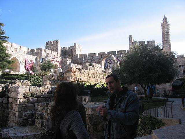 ciudadela de David, museo de Jerusalen