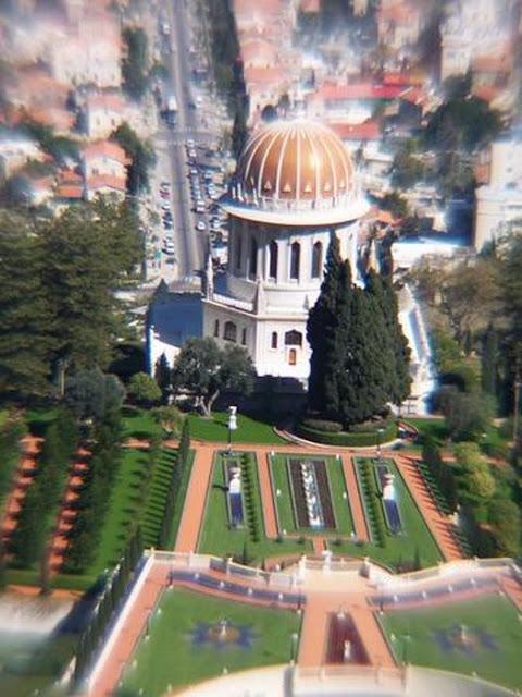 templo bahai en Haifa