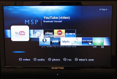 HDX 1000 Media Portal