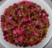 Beet and Potato Vinaigrette Salad