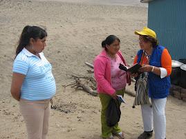predicando tambien a las madres