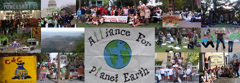 College of Charleston's Alliance for Planet Earth