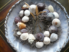 Wreath with shells - Kranz