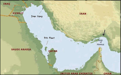 Possible Future Scenario with Iran – 1/1/12