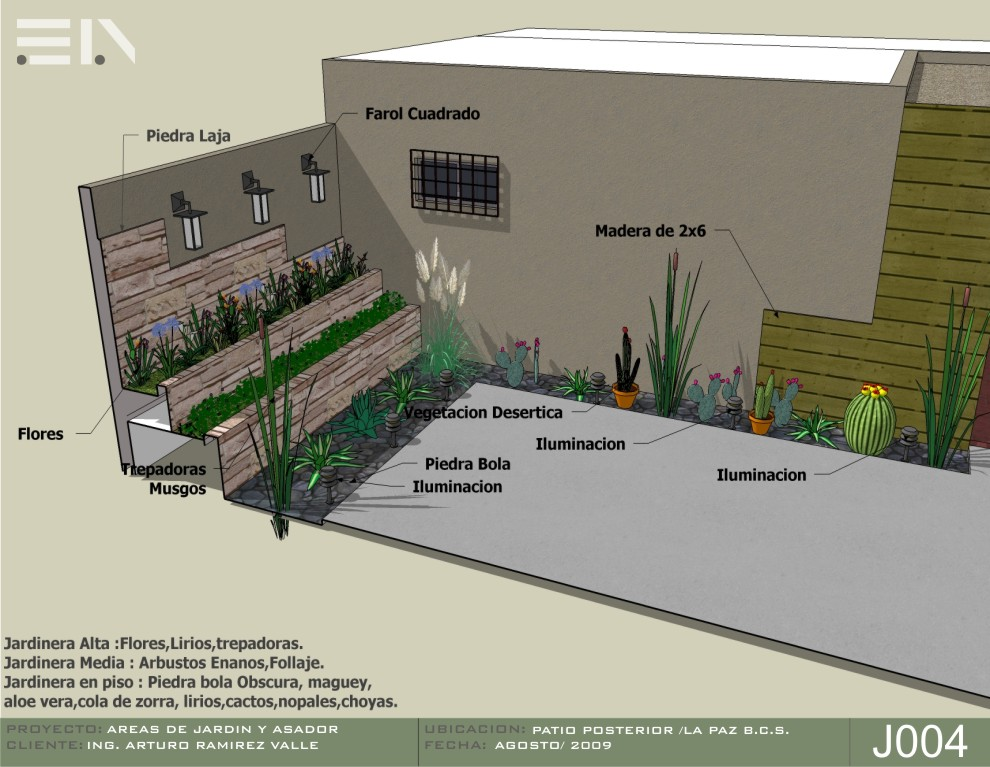 Areas de jardin y asador for Asadores para jardin fotos