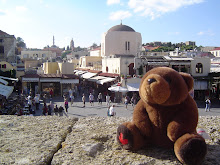 Teddy bear in Rhodos