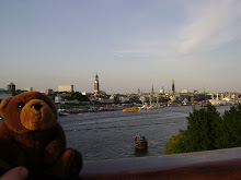 Teddy bear in Hamburg