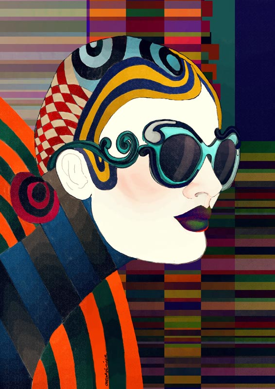 artaksiniya_Prada eyewear 2011 illustration