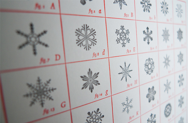 Letterology No Two Snowflake Fonts Alike
