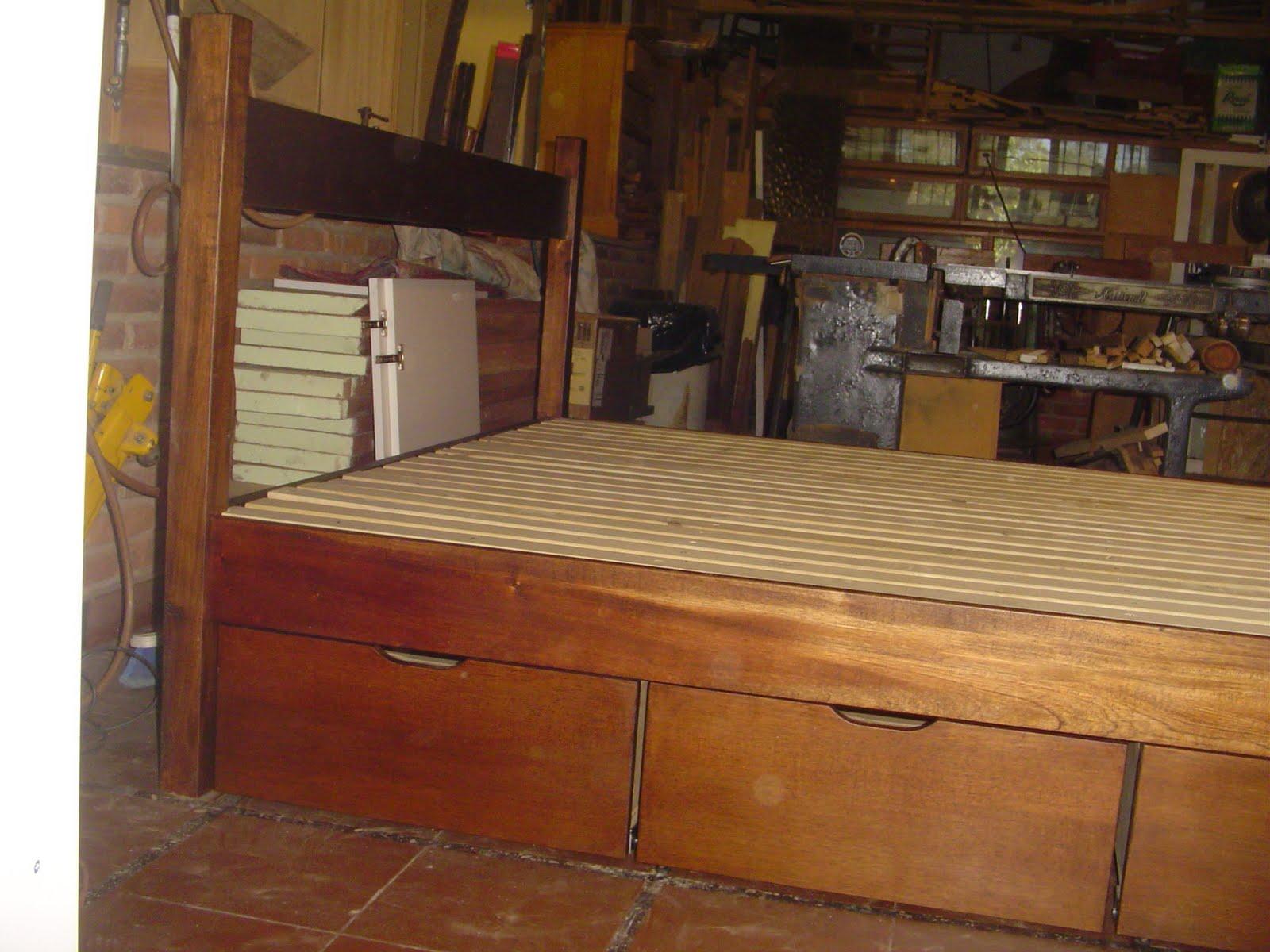 Tapa carpintero camas for Dintel de madera