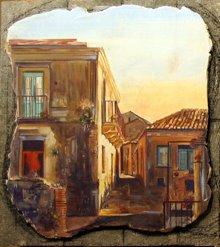 """Via Roma study No.2 18""""x18"""""""