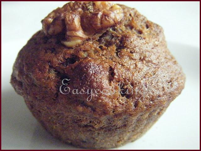Eggless Mocha Walnut Cake