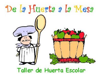 Nutricion y salud taller de huerta escolar for Proyecto de comedor escolar