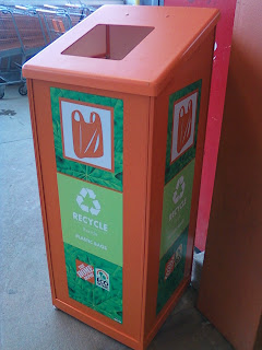 saving the earth every day plastic bag recycling bins home depot and wawa. Black Bedroom Furniture Sets. Home Design Ideas