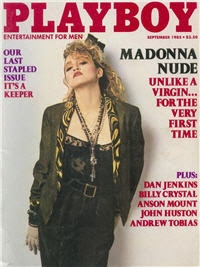Playboy cover featuring Madonna
