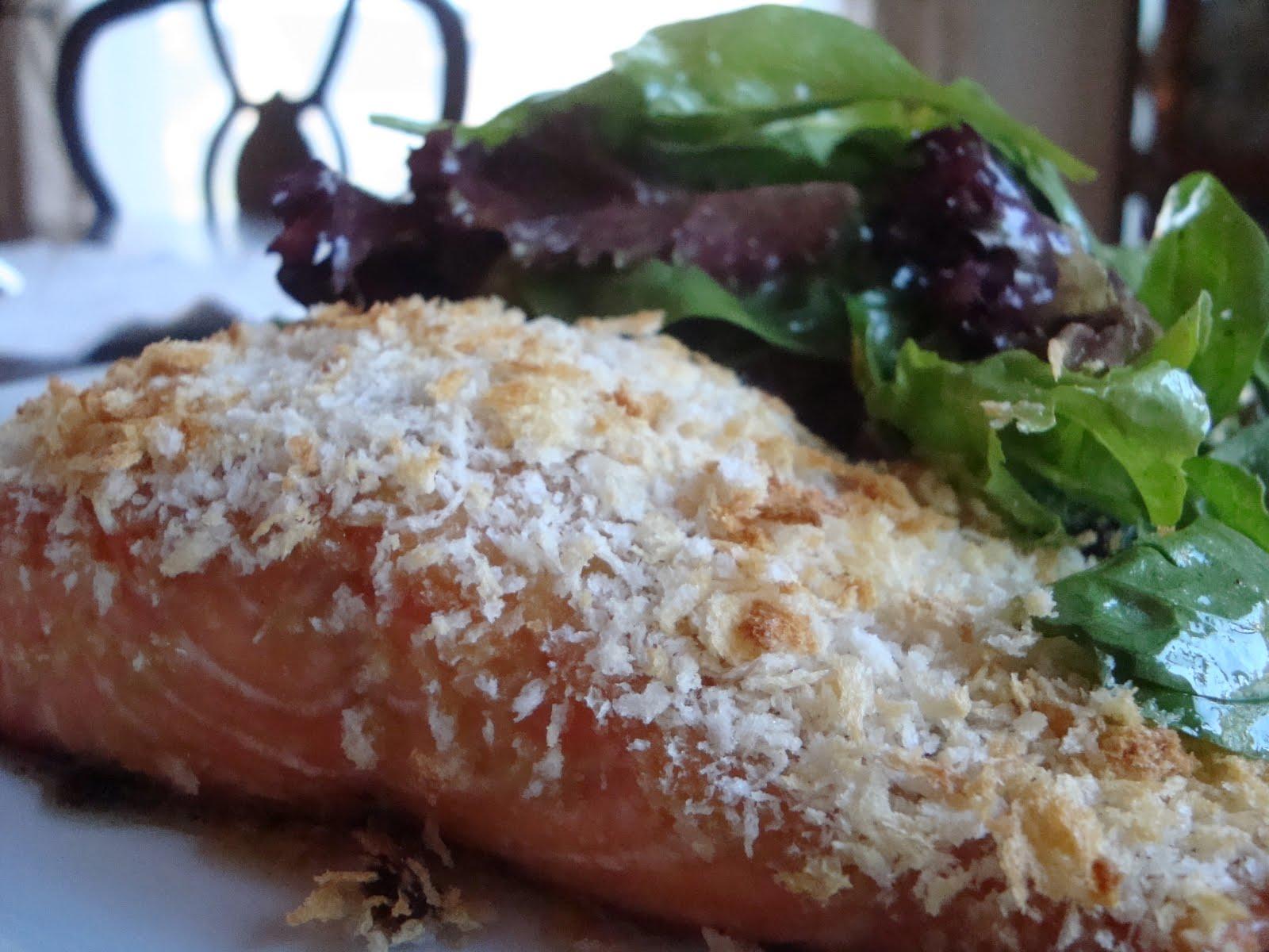 recipe: panko horseradish crusted salmon recipe [37]
