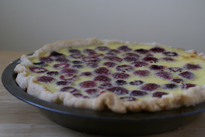 The Cooking of Joy: Raspberry Custard Pie