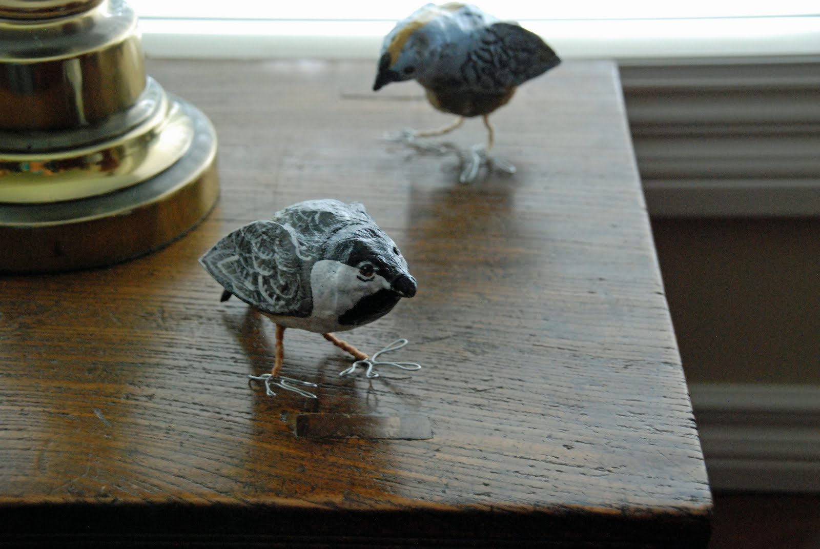 That Artist Woman Paper Mache Birds