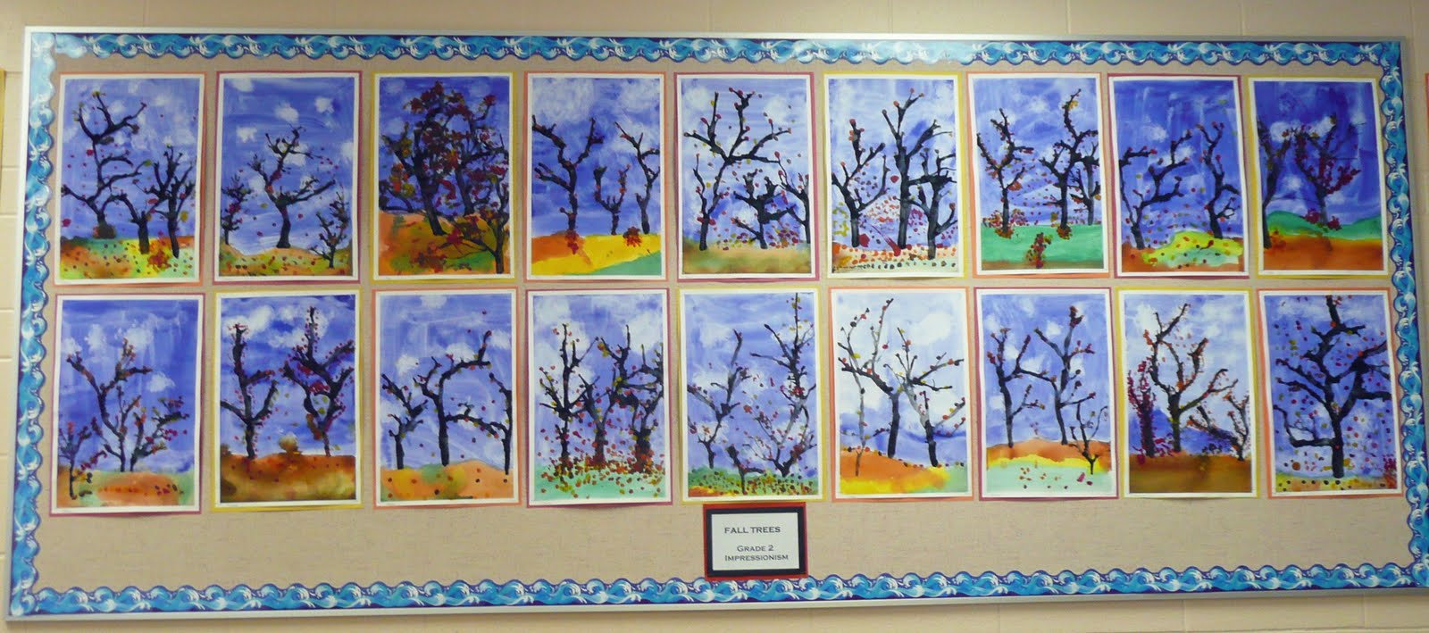 UPDATE: Here are the Fall Trees (version 2) that the Grade 2's ...