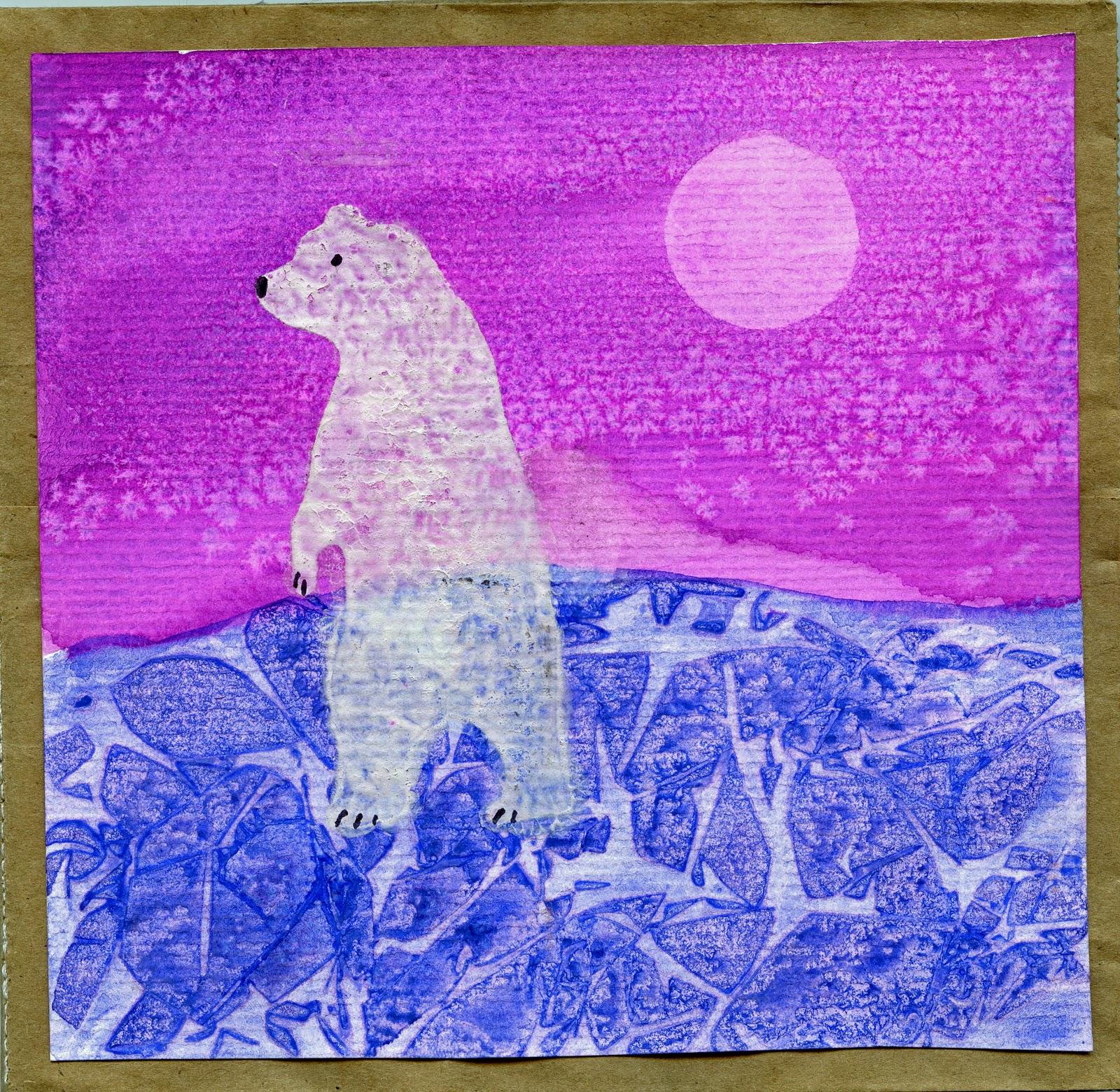 that artist woman polar bears revisited