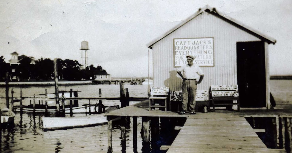 Beaufort north carolina history capt jack an early for Carolina fishing tv