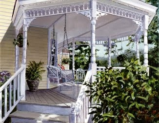 Swing on the Gazebo