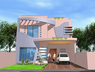 Architectural Home Elevation Pakistan @ medyalink.com