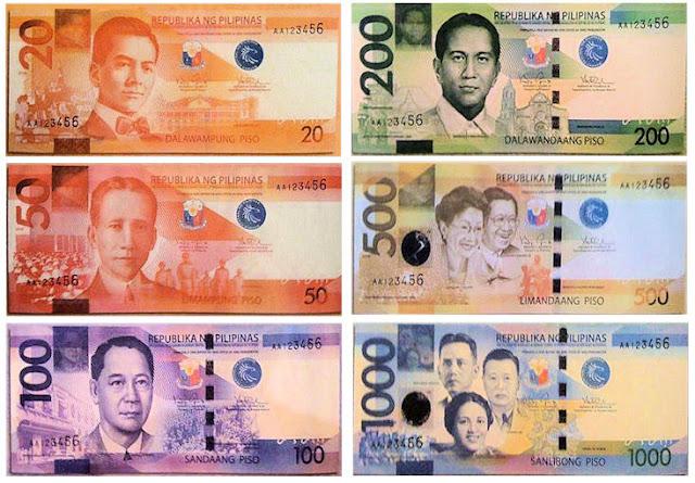 New Peso Philippines Money