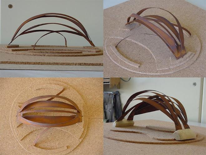 Escultura A y B