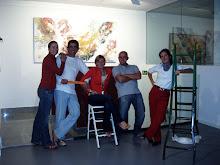 Inés,Oscar,Paula,Juan Pablo y Cristina