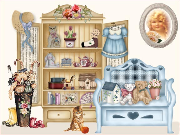 Scrapbooks and Bears