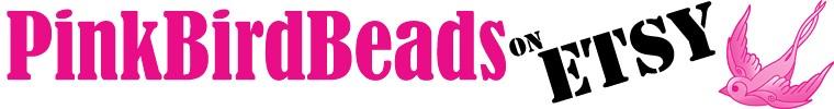Pink Bird Beads