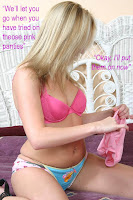 Forced feminization to love panties