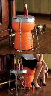 je web et vous d co tabouret et table bouchon de. Black Bedroom Furniture Sets. Home Design Ideas