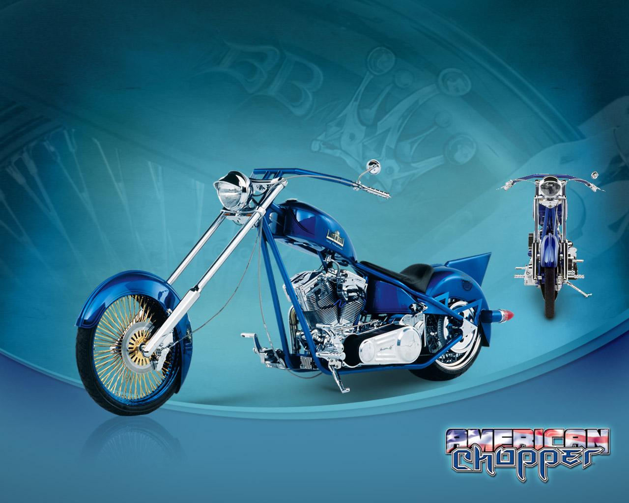 Imagini Desktop  Motociclete Americane   American Chopper