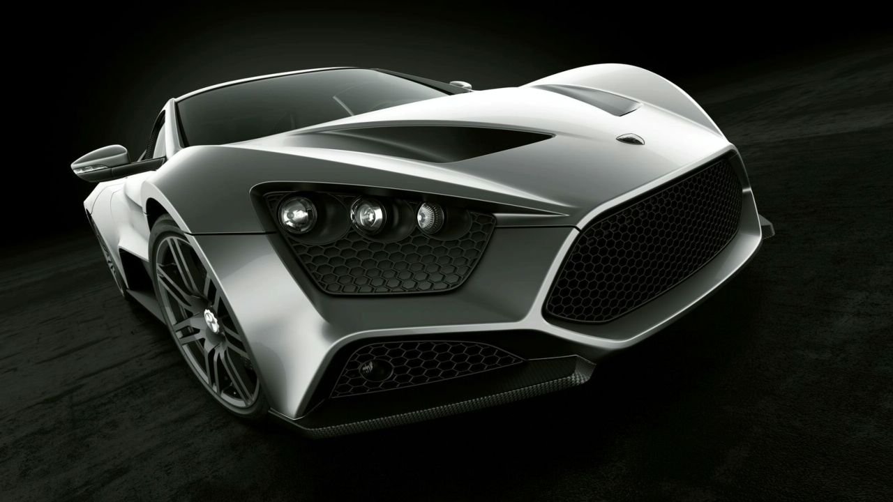 Car Zenvo ST-1 50S and Blue Wallpapers, Car Zenvo ST-1 50S Backgrounds