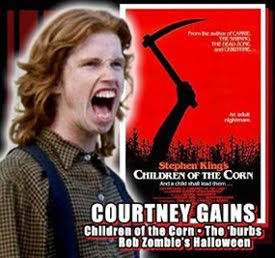 Courtney Gains at HorrorHound Weekend