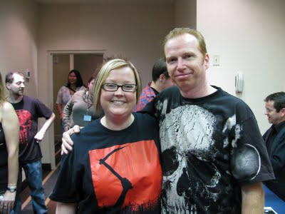 Melissa and Courtney Gains