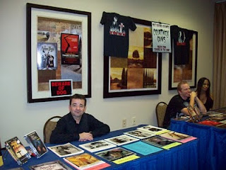 John Franklin and Courtney Gains at HorrorHound Cincinnati 2009