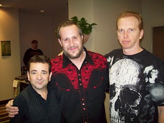 John Franklin, Ben Harley and Courtney Gains at HorrorHound Cincinnati 2009