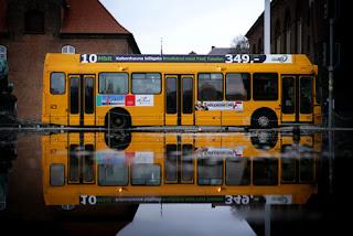 Arriva public transport branding