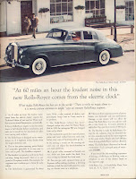 classic advertising Rolls-Royce advertisement David Ogilvy