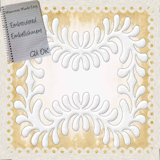 Embroidered Embellishment (CU OK) {Memories Made Easy} E,broideredEmbellishment_PREVIEW