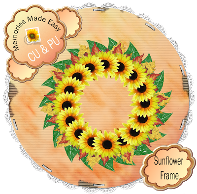 http://ladyshannonmemoriesmadeeasy.blogspot.com/2009/09/sunflower-frame.html