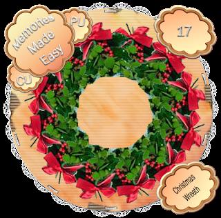 http://ladyshannonmemoriesmadeeasy.blogspot.com/2009/11/christmas-wreaths-16-17-cu-ok.html